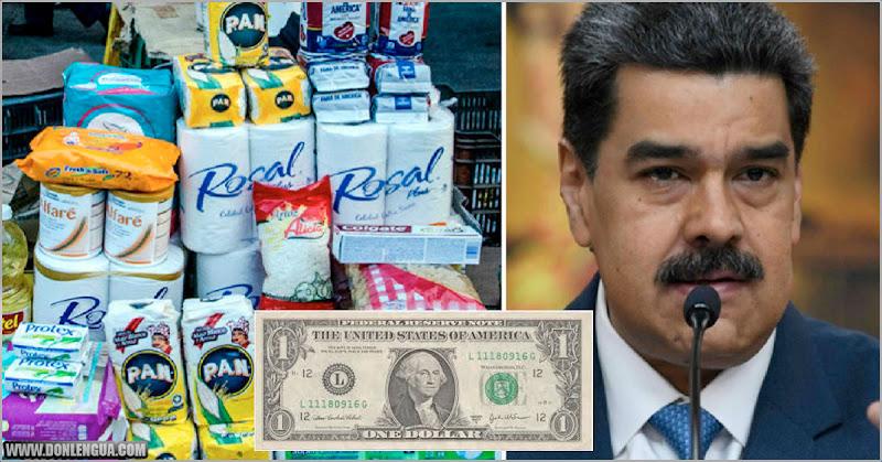 Estos son los nuevos precios en dólares de 27 productos regulados por Maduro