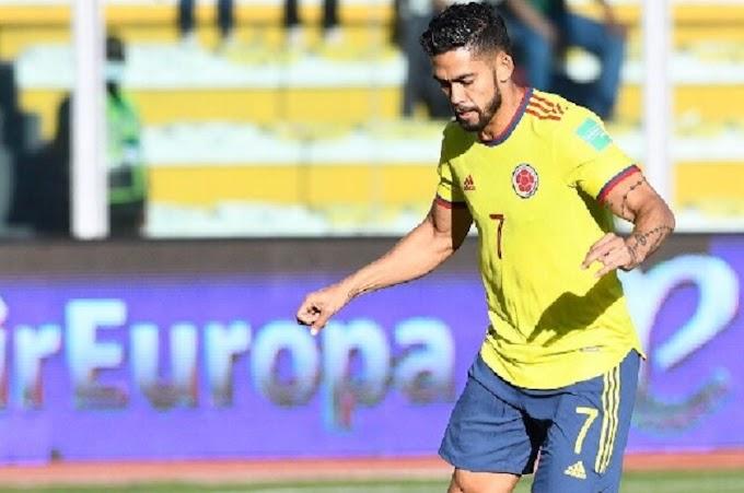 Baja en la 'tricolor': Andrés 'Rifle' Andrade, del Atlético Nacional, desafectado de la Selección Colombia por lesión