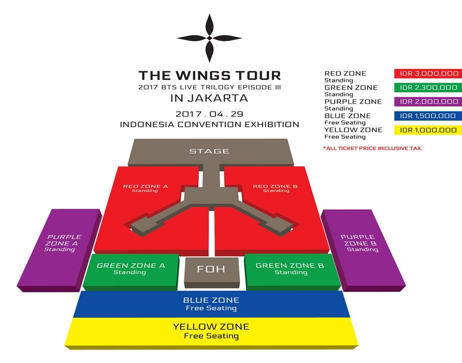 2017 BTS LIVE TRILOGY EPISODE III THE WINGS TOUR in