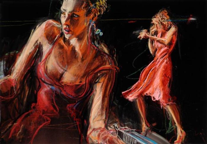 Американский художник. Jim Gingerich