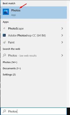 Buka aplikasi Foto