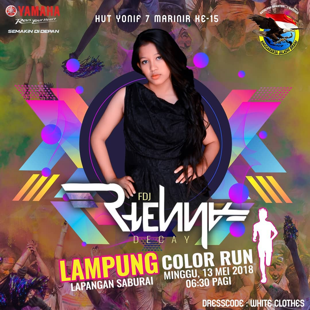Yamaha Lampung Color Run • 2018