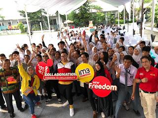 IM3 Ooredoo Selenggarakan InstaTrip di Medan, Berikan Generasi Muda Kebebasan Berkolaborasi dan Berkreasi Lewat Instagram