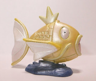 Shiny Magikarp Pokemon Figure Tomy Monster Collection 2005 Daisuki Club lottery