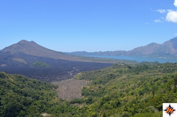 Kintamani, vista sul Monte Batur