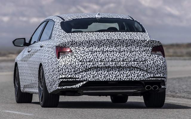 Novo Hyundai Elantra 2021 N