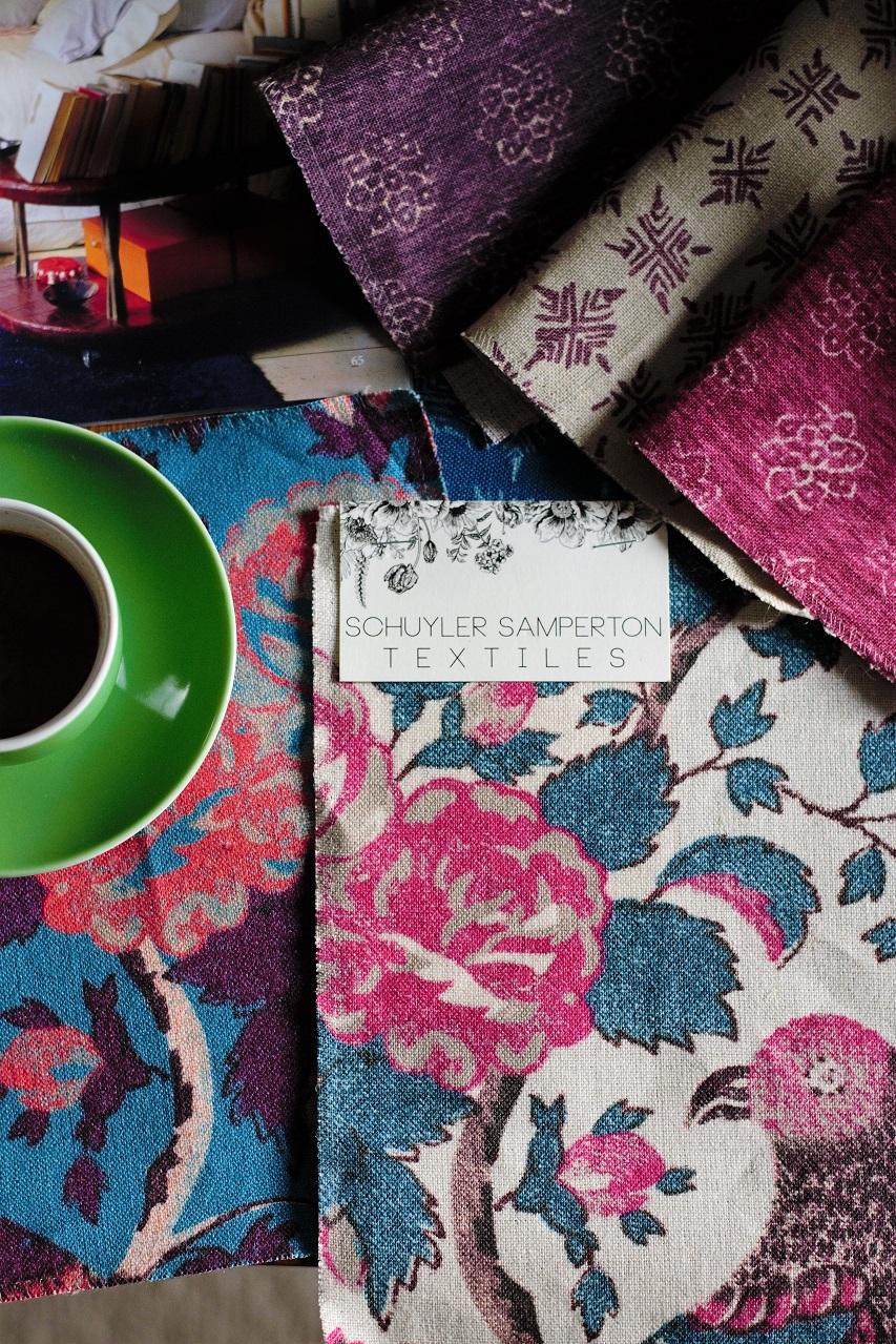 Schuyler Samperton Textiles · Lísa Hjalt