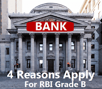 4 Reasons Why You Should Apply For RBI Grade B