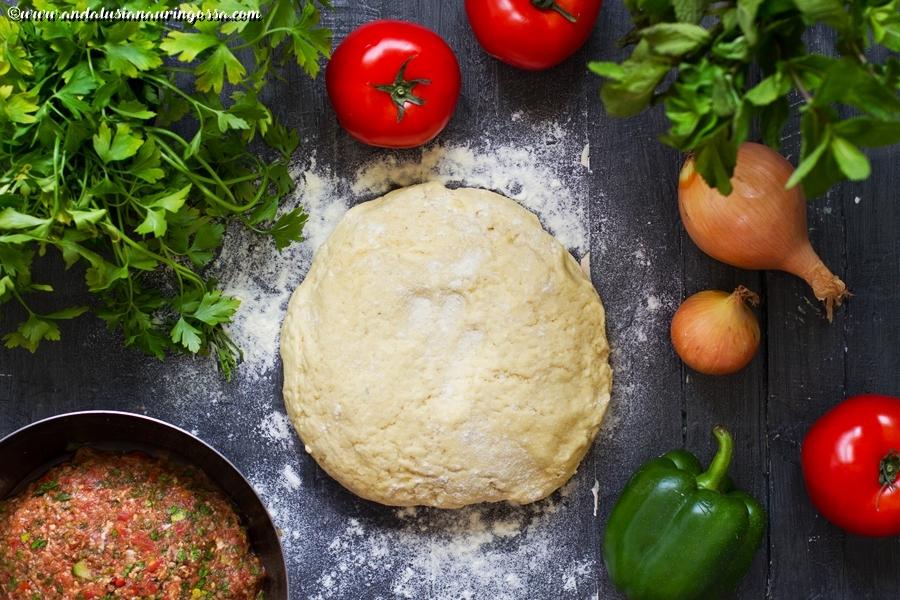 Lahmacun_resepti_turkkilainen pizza_kosher_gluteeniton_lammaspizza_Andalusian auringossa_ruokablogi_matkablogi_2