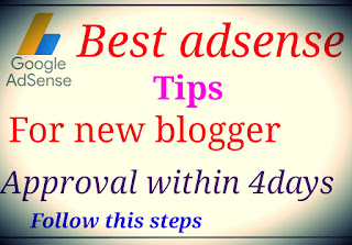 adsense|approval tips for new bloggers best tips