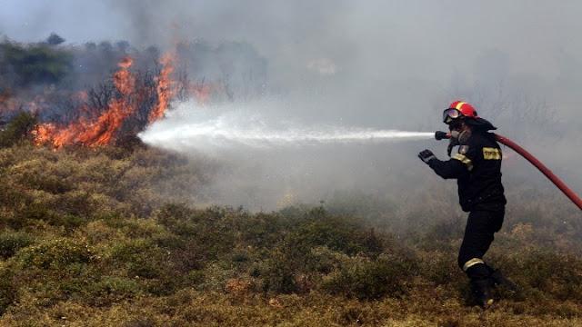 Πυρκαγιά στην Ύδρα - Επιχειρούν δυνάμεις και από την Αργολίδα