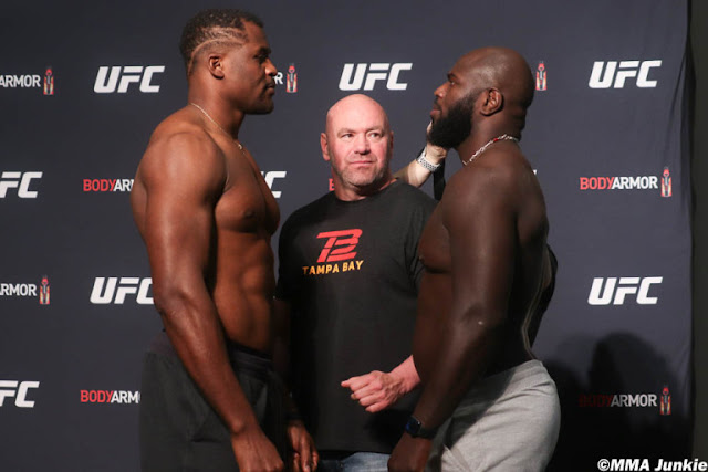 Francis Ngannou Jairzinho Rozenstruik UFC 249 Faceoff