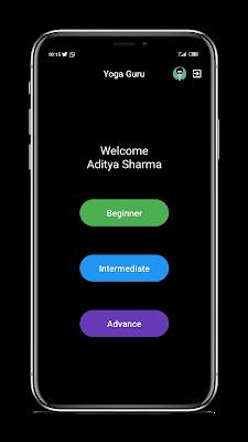 Mode Latihan - Source Code Flutter - Aplikasi Pelatih Yoga