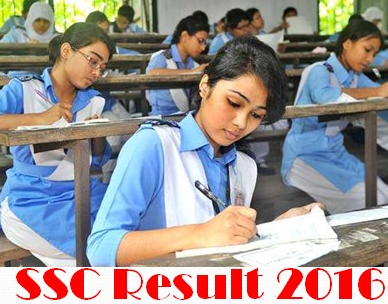 SSC Result 2016 Education Board