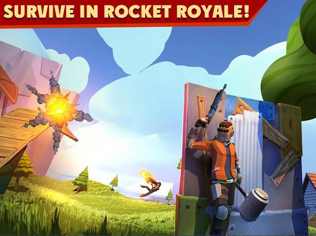 تحميل لعبة Rocket Royale الاندرويد مهكرة