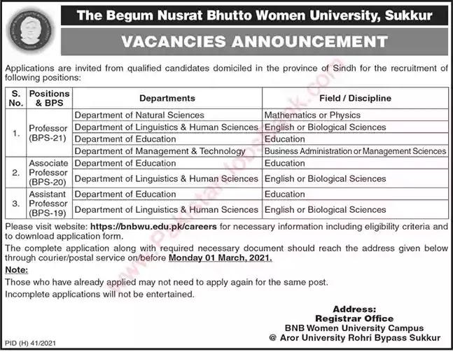 latest-jobs-in-pakistan-begum-nusrat-bhutto-women-university-jobs-2021