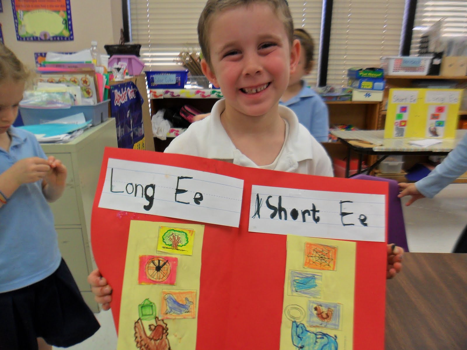 Kindelah Kindergarten Day 127 Long E Short E