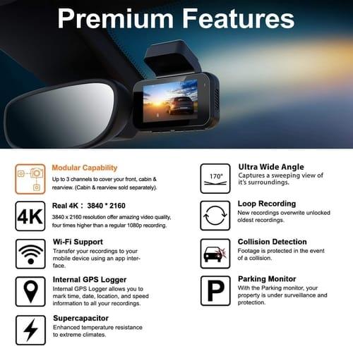 Review REXING V5 Dash Cam Premium 4K Car Camera