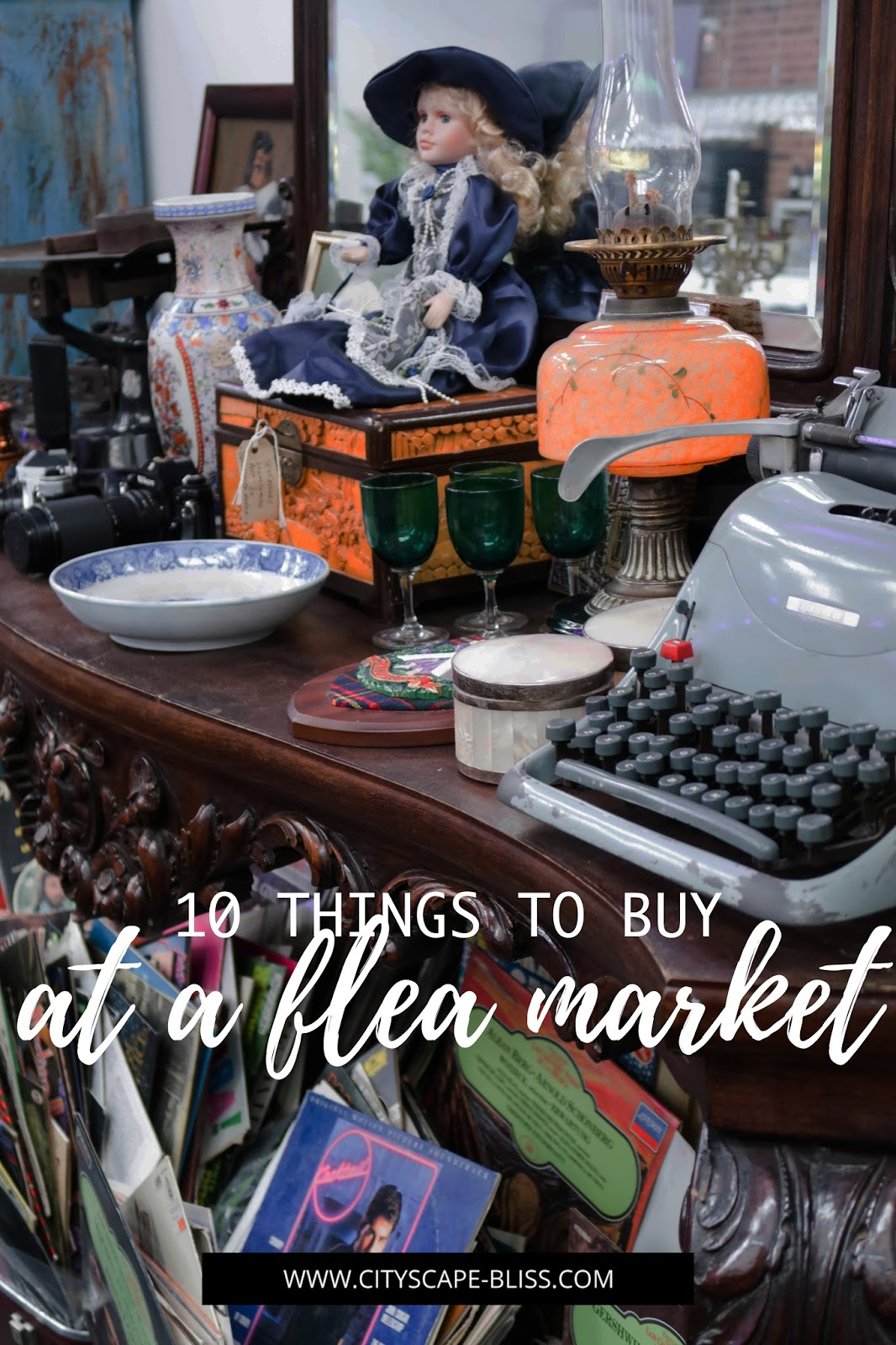 10 things to buy at a flea market