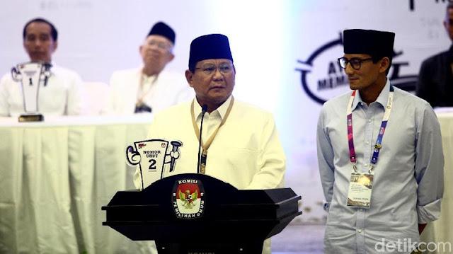 Revisi Visi Misi Ditolak, Tim Prabowo: Itu Bukan Buat KPU tapi Rakyat