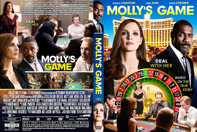 Molly's Game DVD Cover