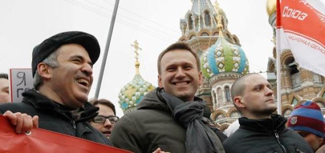 Навальнята атаковали станцию переливания крови