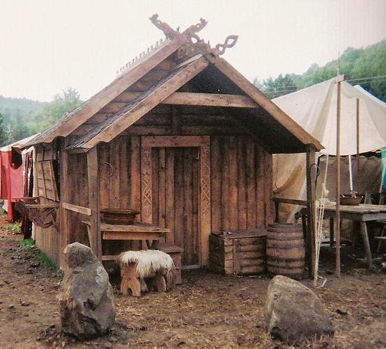 The Crow's Fjord: Viking Style Longhouse