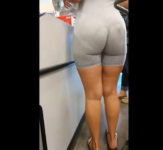 Video candid mujeres nalgonas calzas lycra