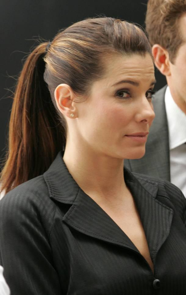 Celebrity Hairstyle Haircut Ideas Sandra Bullock Hairstyles