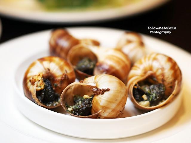 Escargots RM 40/6 pieces