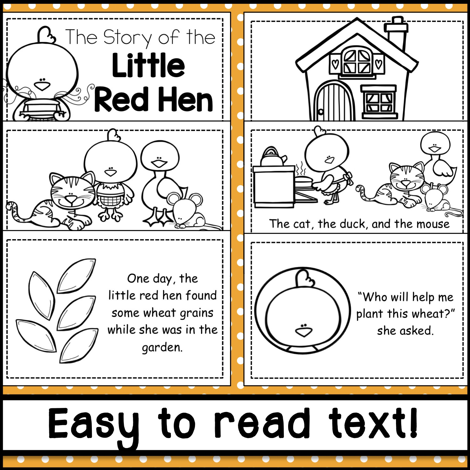 Fairy And Folk Tale Emergent Readers Plus A Free Download