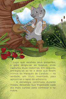 História O Gato de Botas (Conta Pra Mim); Imprimir PDF Grátis
