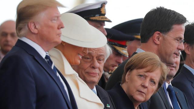 Merkel y Trump se reúnen en un ambiente de frialdad y descortesía sin foto conjunta ni apretón de manos
