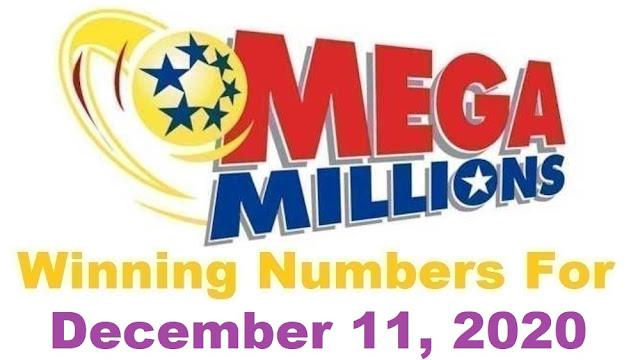 Mega Millions Winning Numbers for Friday, December 11, 2020