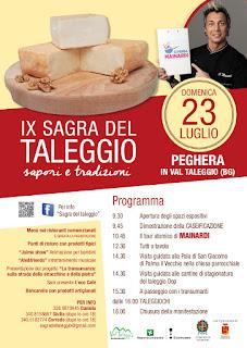 Sagra Del Taleggio 23 luglio Peghera - Taleggio (BG)