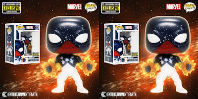 Entertainment Earth Exclusive Spider-Man Captain Universe Pop! Marvel Vinyl Figure by Funko