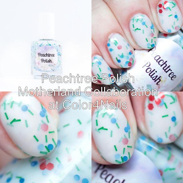 Peachtree Polish Motherland Collaboration at Color4Nails