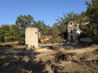 Restos mineros, Mina de cobre Dos Amigos, Huidobro, Burgos