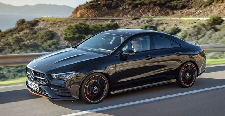 Четырехдверное купе Mercedes-Benz CLA может дебютировать в Детройте 85