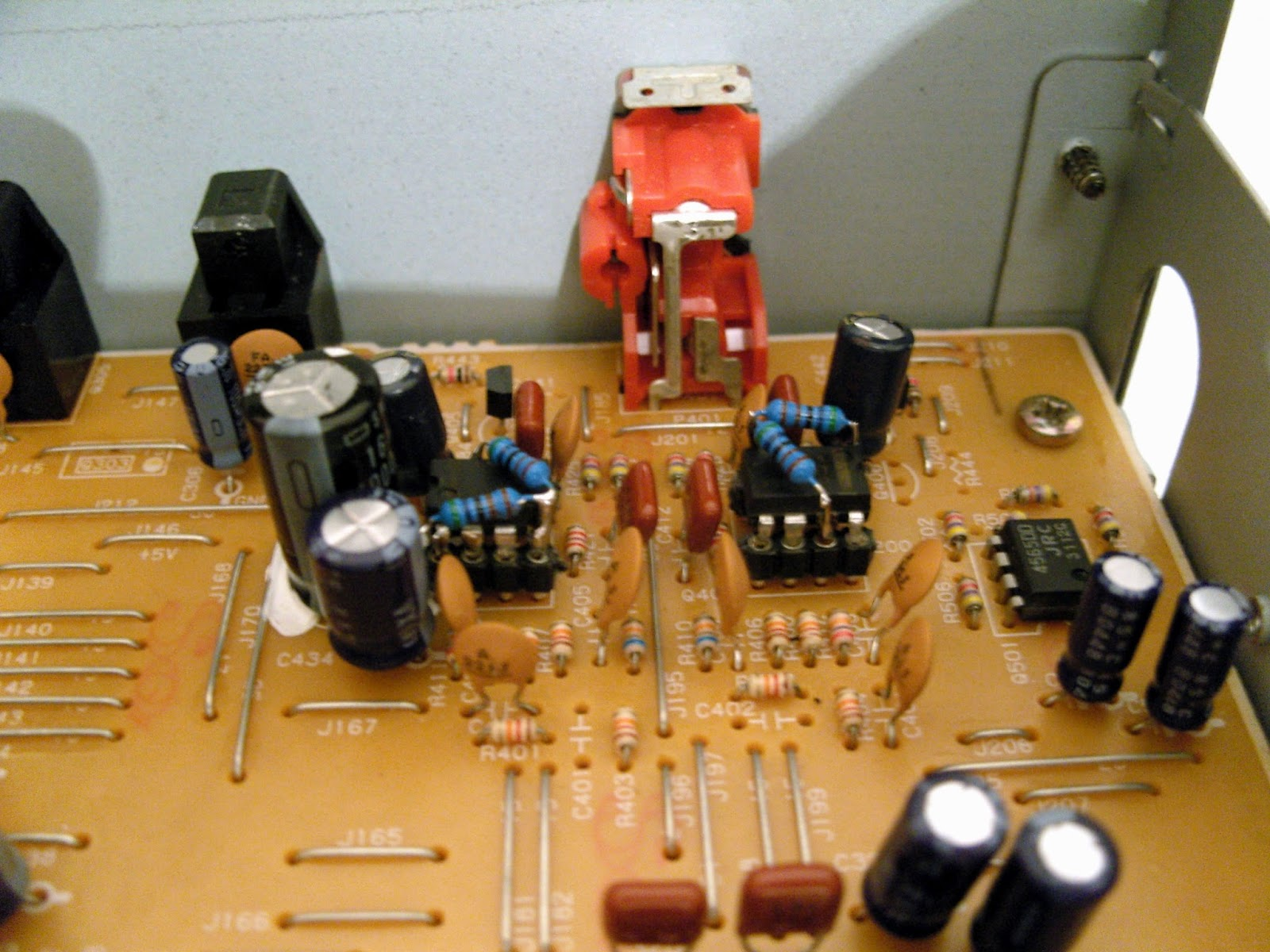 Mao Audiophile Modifications Summer Games On Onkyo Dx Op Amp Swapping To Achieve The