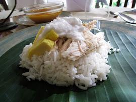 Nasi liwet tanpa santan