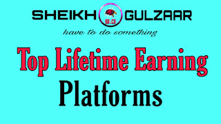 Top Lifetime Earning Platforms-Sheikh Gulzaar