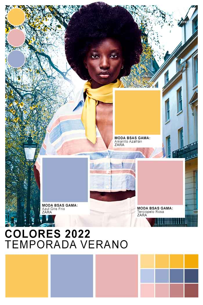 paleta cromatica verano 2022
