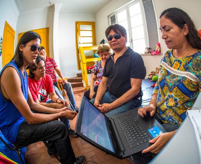 RTEmagicC projeto lamparina.jpg - Projeto de mestrado da Uepa abre o mundo da literatura para os cegos
