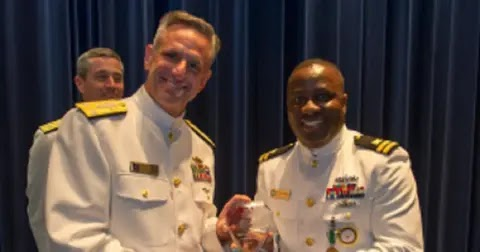 US Navy honours Nigerian officer for accountability