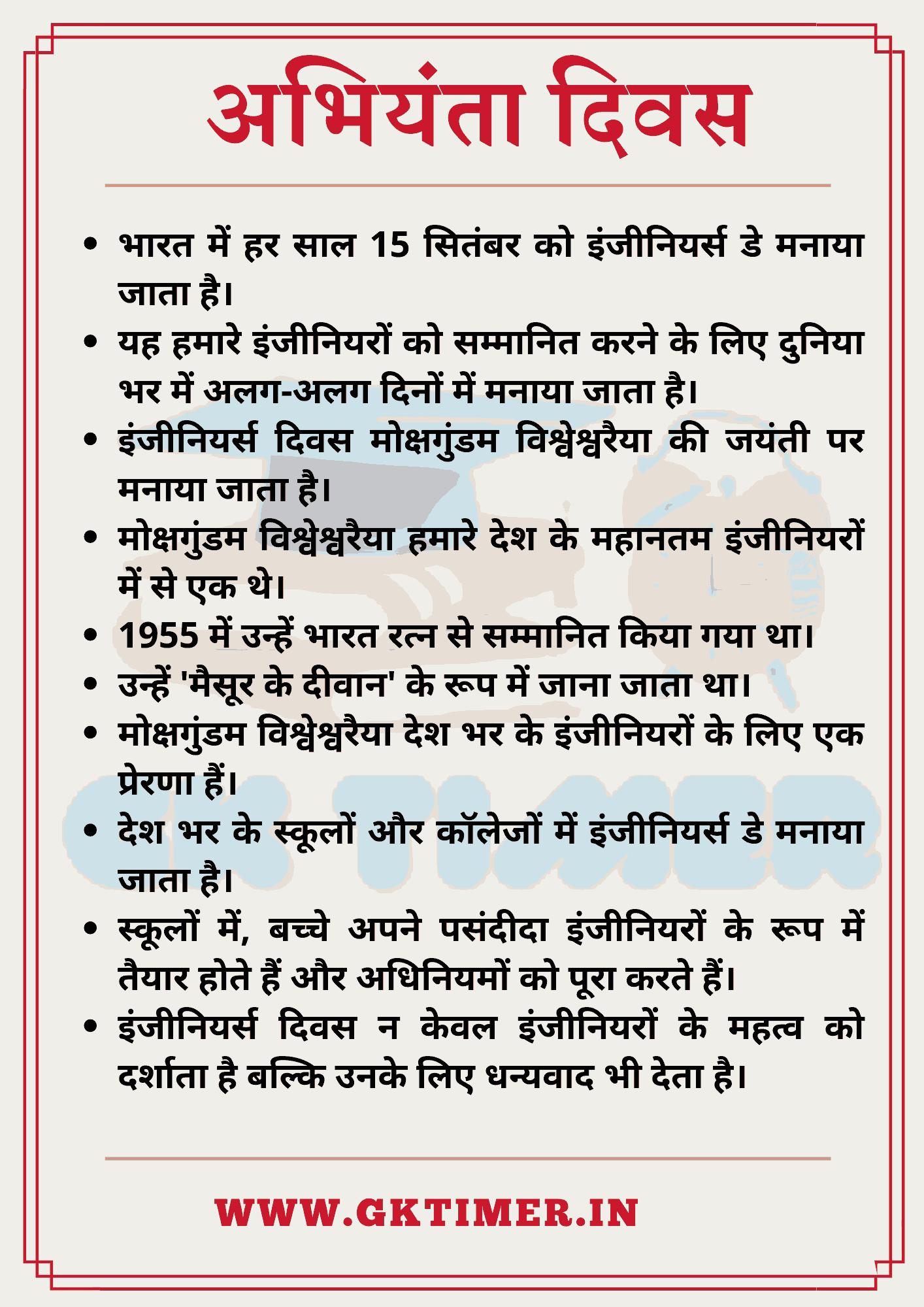 अभियंता दिवस पर निबंध | Essay on Engineers Day in Hindi | 10 Lines on Engineers Day in Hindi