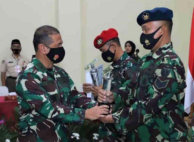 Mewakili TNI AU, Qori Seskoau Sabet Juara II MTQ Tingkat TNI Tahun 2020