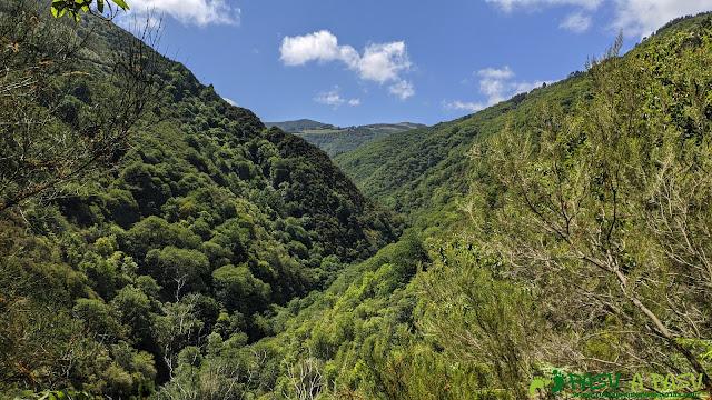 Valle del Turía hacia As Veigas