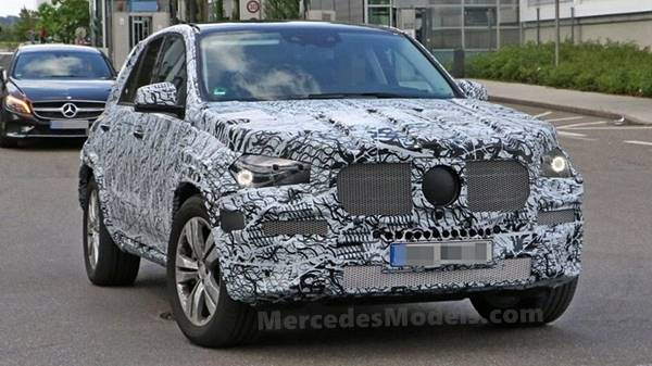 2019 Mercedes-Benz GLE Spy Shots and Reviews