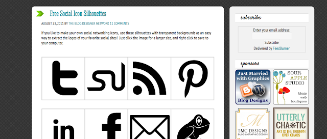 How to Create Your Own Social Media Icons using Picmonkey